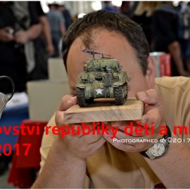 MR České republiky mládeže v plastikovém modelářství 2017